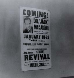 the poster for a revival featuring Dr. Jack